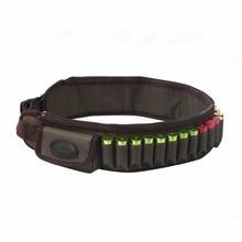 Tourbon Hunting Gun Accessories Tactical 12 Gauge Shotgun Cartridge Belt 600D Nylon Holds 24 Round Free Shipping