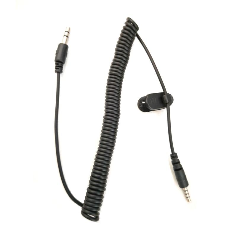 Kabel do słuchawek Adapter Jack 2.5mm do 3.5mm Audio przewód AUX MP3 GPS połączenie dla Vimoto V6 V8 V3 Airide domofon Bluetooth