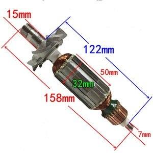 Замена ротора для триммера с плоскими краями, для makita 3709 3710 MT370, триммера, арочный мотор, анкер, высококачественные детали для обрезки
