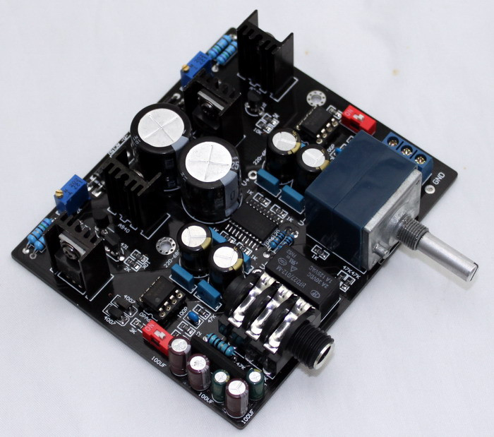YJ TPA6120A Headphone Amplifier board dual AC15V-0-15V NE5534 + UPC1237 for 32-600 ohm speaker + ALPS Potentiometer краски гамма гуашь мультики 6 цветов
