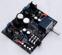 YJ TPA6120A Headphone Amplifier board dual AC15V 0 15V NE5534 + UPC1237 for 32 600 ohm speaker + ALPS Potentiometer