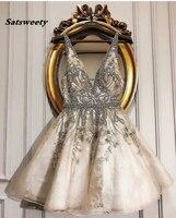 Индивидуальный заказ бальные платья Короткие Потрясающие официальное коктейльное платье vestido de festa кристаллы праздничное платье Роскошные