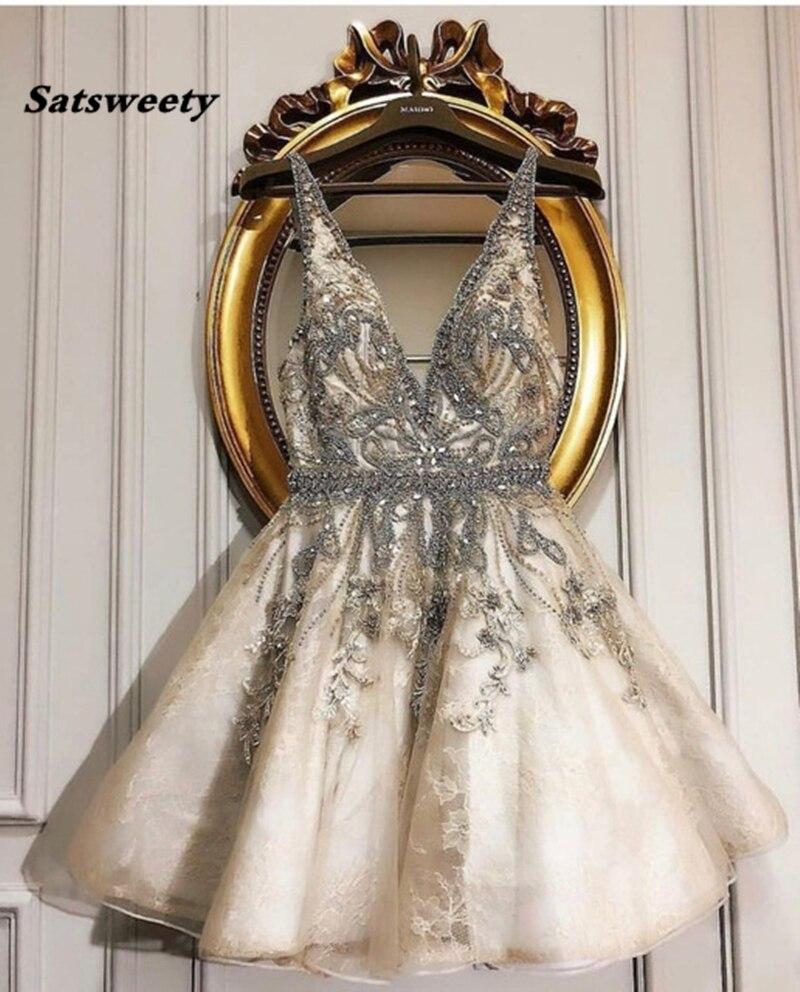 Robes de retour sur mesure courte robe de Cocktail formelle superbe robe de reconstitution historique de cristaux de festa de luxe