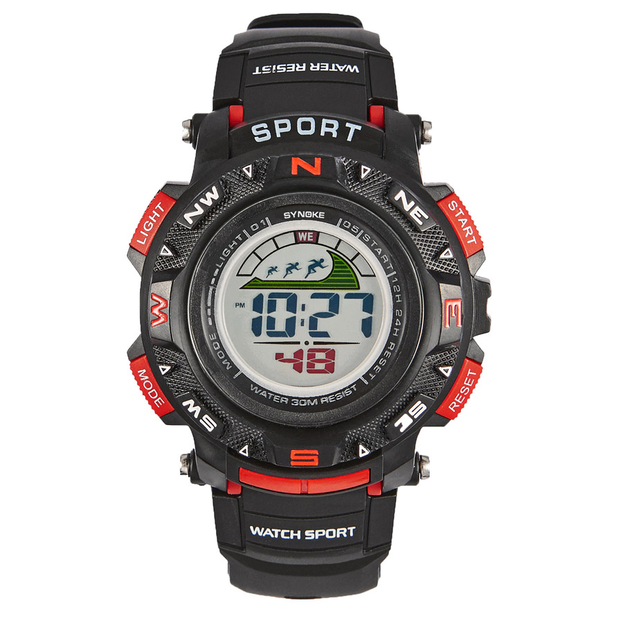 SYNOKE Watches Kindertimer LED Back Light Sport Kids Digital Horloges - Kinderhorloges - Foto 2