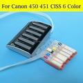 PGI450 CLI451 CLI451GY PGI450XL CLI45XL CLI451GYXL CISS SYSTEM Für Canon PIXMA MG6340 MG7140 iP8740 MG7540 Mit Rohr Tubo
