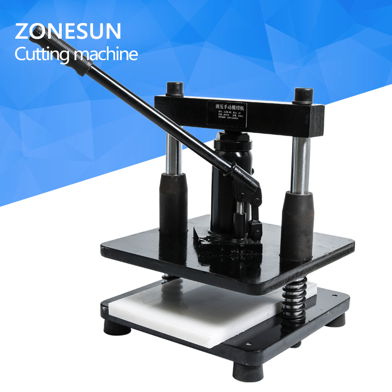 ZONESUN leather Hydraulic manual die cutting machine photo paper PVC/EVA sheet mold cutter cutting die for DIY papercraft diy lattice pattern carbon steel cutting die