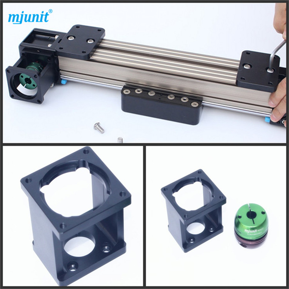 mjunit Super-Slide Linear Actuator Belt-Drive for NEMA 34 linear guide rail professional manufacturer of linear actuator system axes position linear guide way linear rail