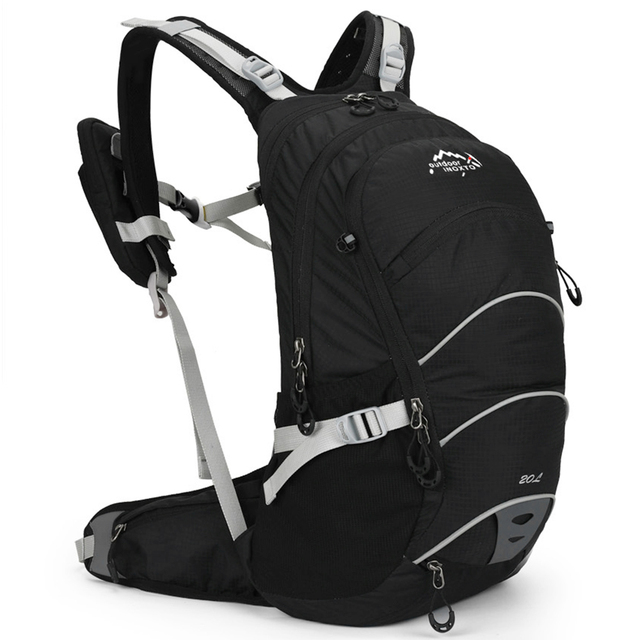20L Cycling Backpack Waterproof Men Women Bike Backpack with Helmet Net for P5Q4