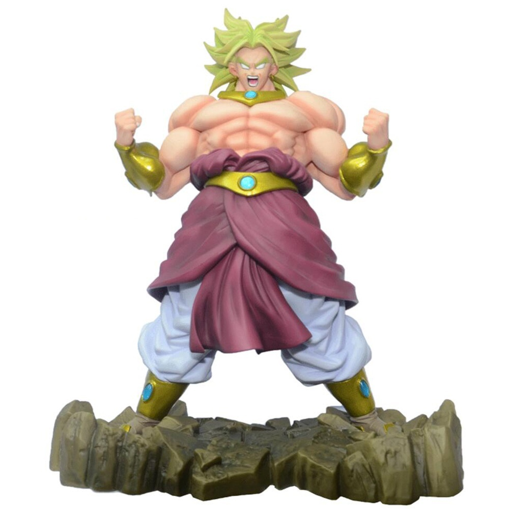 Dragon Ball <font><b>Z</b></font> Broli <font><b>Action</b></font> <font><b>Figure</b></font> 25CM Figuarts <font><b>DragonBall</b></font> Movie Broly Model Toys