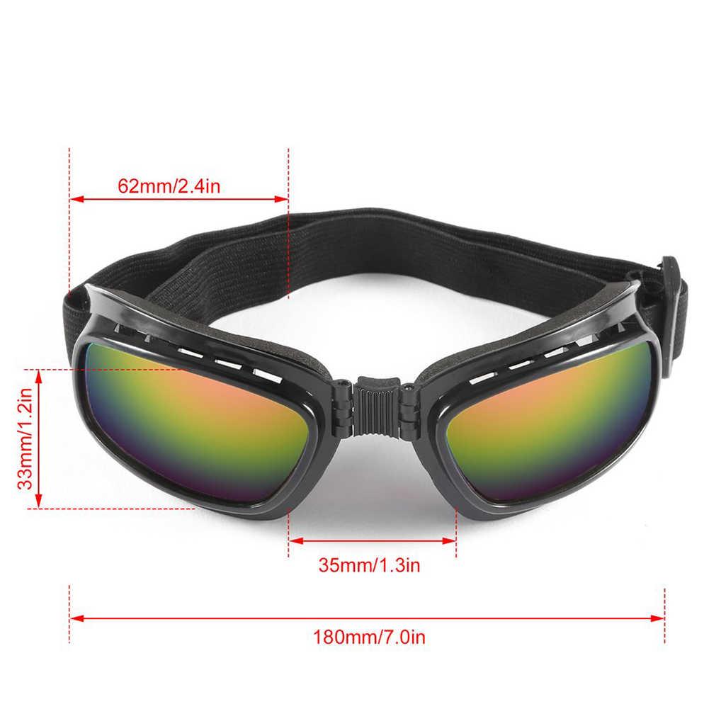 3ea9e151ab ... New Ski Motorcycle Glasses Motocross Riding Windproof prescription  Motorcycle Glasses Motorbike Adjustable Elastic Band ...