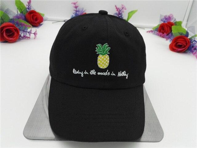 fffa31d9088 Belababy 2017 Men Women Pineapple Dad Hat Baseball Cap Polo Style  Unconstructed Fashion Unisex Dad Cap