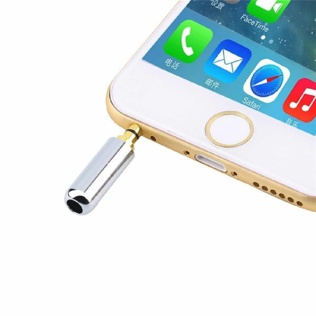 1PC 3.5 mm Plug Audio Jack 4 Pole Gold Plated Earphone Adapter Socket for DIY Stereo Headset Earphone Headphone for Repair