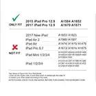 Funda de teclado Bluetooth de aluminio para iPad Pro 12,9 modelo A1584/A1652/A1670/A1671 funda protectora delgada con 7 colores retroiluminada - 3
