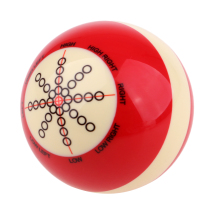 Прочный полимерный бильярдный тренировочный бильярд, аксессуары для бильярдных шаров, забавные игры в помещении, подарок на день рождения