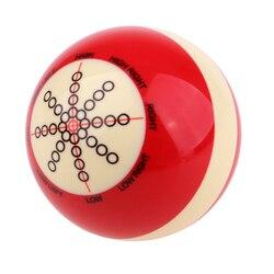 Надёжный из смолы бильярдная тренировка бассейн Кий Мяч Аксессуар снукер бильярдные шары забавные домашние игры подарок на день рождения