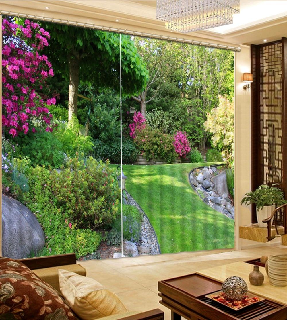 Photo Customize Size 3D Curtains Decorative Home Decor New