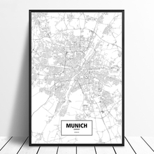 Carte Allemagne Noir Et Blanc.Vente En Gros Germany Map Galerie Achetez A Des Lots A