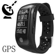 Водонепроницаемый GPS умный Браслет S908 Фитнес трекер Поддержка вызовы напоминание Сообщения шагомер сердечного ритма для смартфонов