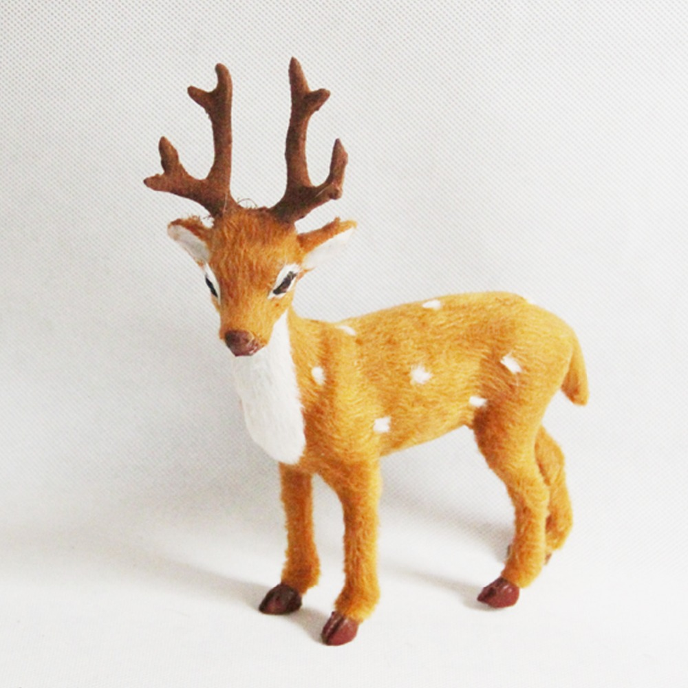 ZILIN free shipping mini deer head with magnet , wall decoration ...