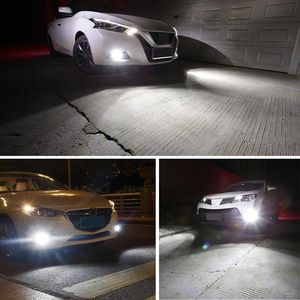 Image 5 - 2X H1 Auto LED Fog Lamp High Power LED Car Bulbs 4014 DRL Daytime Running External Lights Day Driving Vehicle White Ice Blue