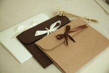 חדש 24*18*0.7cm 3 צבע מעטפת קראפט נייר שקיות Diy לאסוף קבצי שימוש כמתנה אהבה מכתב אריזה באיכות גבוהה מכירה לוהטת 6596