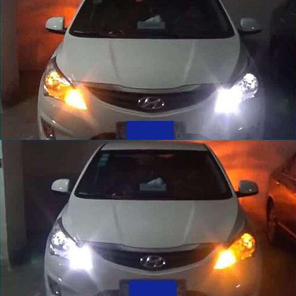 PcsSet   LEDs Universal Car Turn Signal Light Daytime - Car signal light