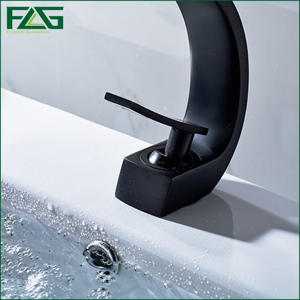 FLG European Nordic Retro Bath Mat Oil Rubbed Bronze Sink Faucet ...