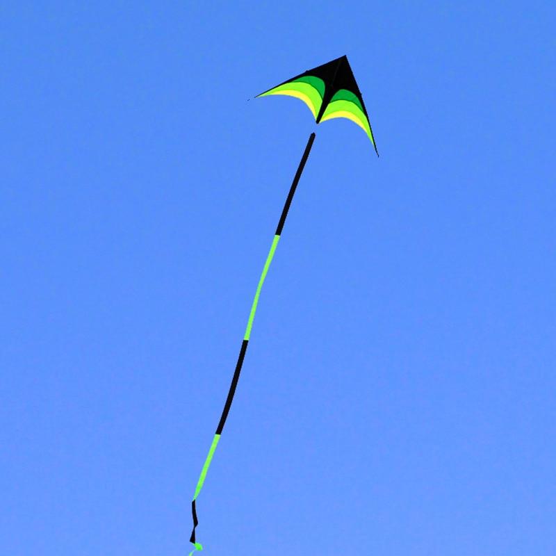 Free Shipping 10m Big Kite Flying Line Ripstop Nylon Fabric Outdoor Toys Cerf Volant Kite For Adults Kitesurf Reel Bag Bird Kite