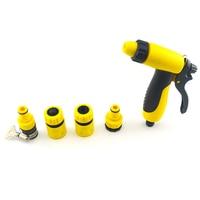Gesu Water For Watering Spray Gun Lawn Garden Irrigation Adjustable Washer Gun Kit Adapter Fitting Garden