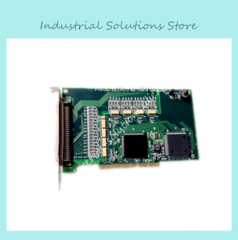 PIO-32/32L (PCI) NO:7097A industrial motherboard 100% tested perfect quality industrial floor picmg1 0 13 slot pca 6113p4r 0c2e 610 computer case 100% tested perfect quality