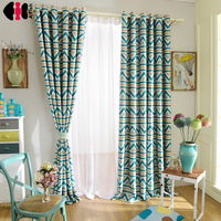 Hot Sales Curtain For Kids Baby Boy Girl Children Cartoon Window Blockout Curtains For Living Room