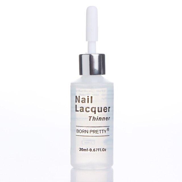 BORN PRETTY 20ml Nail Polish Thinner Lacquer Varnish Thinner Liquid ...