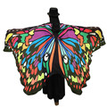 brand shawls and scarves cashmere and wool Soft Fabric Butterfly Wings Shawl Fairy Ladies Nymph Pixie Costume Accessory