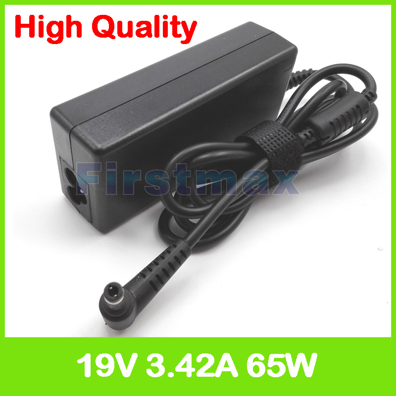 19V 3.42A laptop charger ac power adapter for <font><b>MSI</b></font> EX401 EX460 EX465 EX620 EX623 EX625 EX630 FR400 FR600 FR610 FR720 FX400 <font><b>FX720</b></font> image