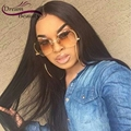 Dream Beauty 360 Lace Frontal Natural Straight Full Lace Wigs With Baby Hair Front Lace Wigs Bleached Knots 150% Density Wigs