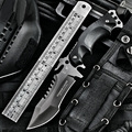HX НА ОТКРЫТОМ ВОЗДУХЕ Тактический Военный Армейский Нож Рыбалка Гарпун Кемпинг исправлена ножи Охотничьи ножи инструмент выживания Karambit нож карманный