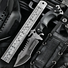 tactical military army knife fishing harpoon Camping fixed knifes Hunting knives survival tool Karambit knife pocket