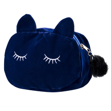 New Fashion Kawaii Cat 2019 Hot Selling Beauty Cosmetic Makeup Bag Organizer Zipper Travel Toiletry Case Pouch