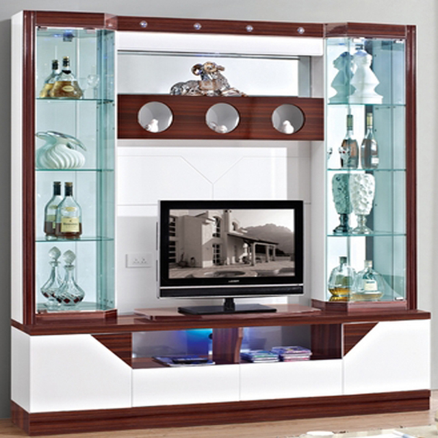 crystal cabinet grey wall with glass doors mirror display cabinets corner