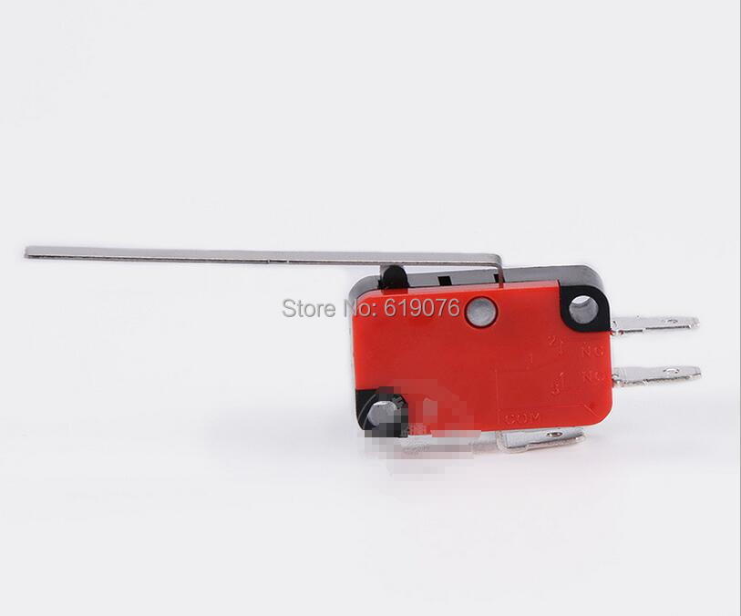 V-153-1C25 travel switch, 15A, 250V, Long Straight Hinge Lever Momentary Miniature Micro Switch nching switch, 10pcs lot v 153 1c25 limit switches long straight hinge lever type spdt micro switch mayitr for electronic measuring appliance