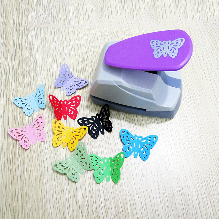 Image 2 - 4.7cm Butterfly 3D Shape Board Hole Punch Large Craft Punch Scrapbooking Machine DIY Tools Handmade Hole PuncherHole Punch   -