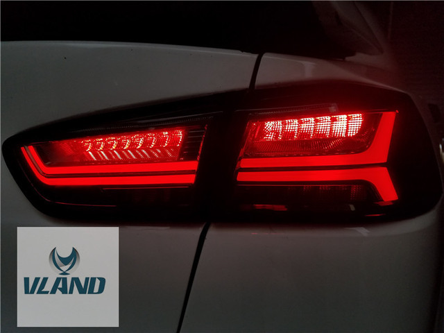 vland factory for car light for lancer led taillight with sequential