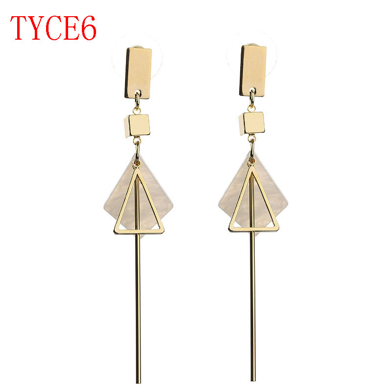 new arrive fashion earring jewerly rose sliver gold color earring gift TYCE6