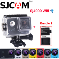 Promotion 1 5 12MP Original SJCAM SJ4000 WiFi NTK96655 1080P HD 30M Waterproof Sports Action Camera