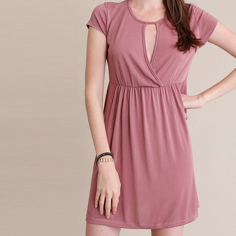 a7262754e8a Sexy womanDress Évider o cou Solide L ukraine Corps Sweat Rose Court  Médiévale Robe Femme Partie Robes Plus Taille 60A037 dans Robes de Mode  Femme et ...