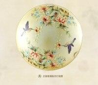 Livraison gratuite chinois Lampes de Plafond De style Designers Verre Encastré Luminaire pour Salon/Chambre