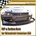 Автомобильный Стайлинг для Mitsubishi Evolution EVO 8 9 VTX Cyber FRP  передний сплиттер из стекловолокна (версия трека)  передняя губа из стекловолокна