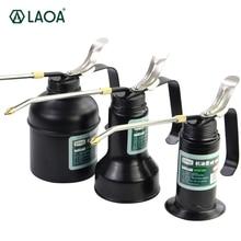 LAOA HVLP Oiler 180cc/300cc/500cc 기계 오 일러 펌프 고압 긴 부리 오일 캔 윤활 에어 브러시 용 핸드 툴