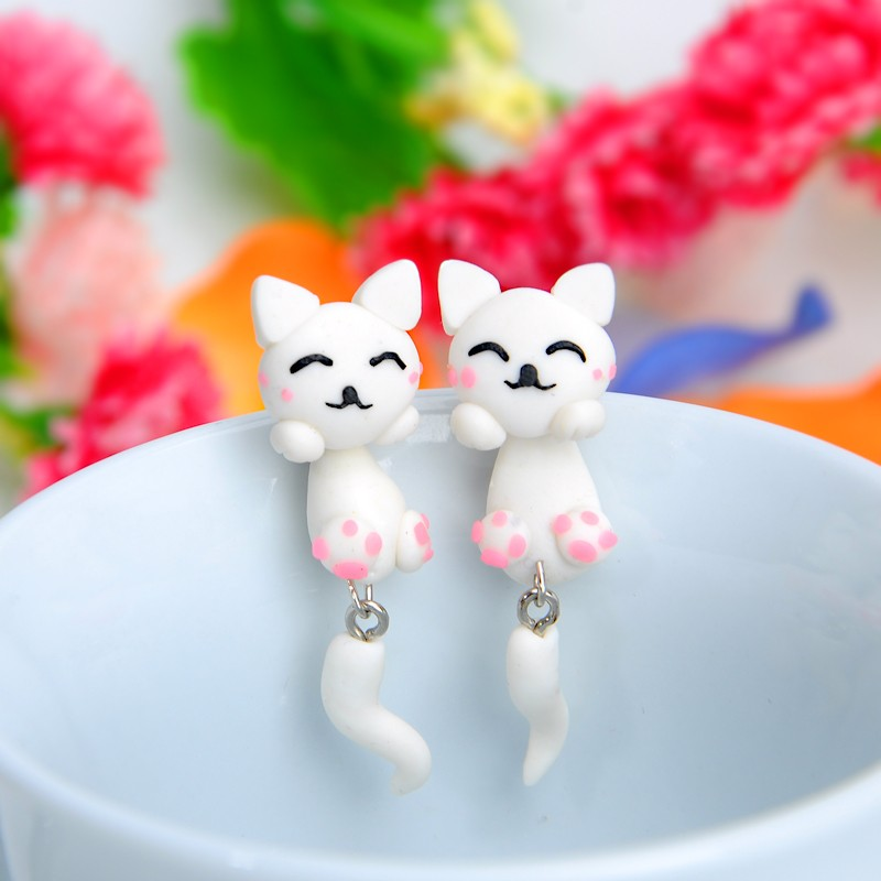 Handmade Cat Cuff Earring