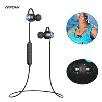 2017 Mpow Jungle Bluetooth Headphones Magnetic Stereo Earphones Wireless Sports Sweat Proof Headset Earbuds For Running